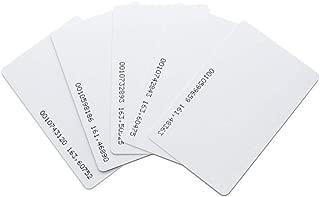 MRG 指紋認証 タイムレコーダー専用 IDカード 5枚セット 勤怠管理 経費削減 不正打刻防止 軽量 (別売りIDカード5枚セット)