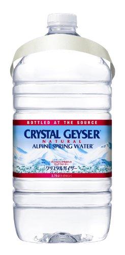 『大塚食品 Geyser(クリスタルガイザー) 3.78L(1ガロン)×6本 [正規輸入品]』のトップ画像