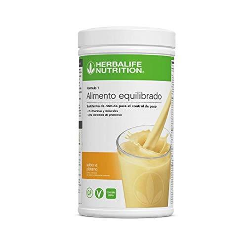 Batido Fórmula 1 550g - (Plátano) | Herbalife