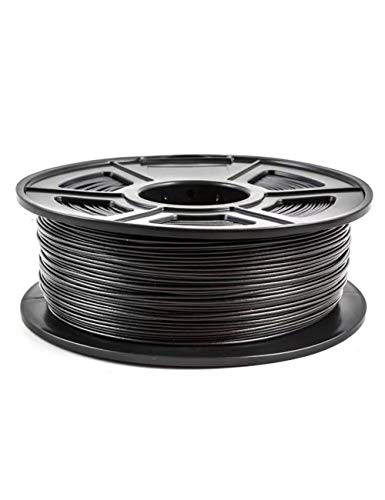 3D-Druckerfilament-PETG-Kohlefasermaterial, 1,75 mm, 1kg-Spule, mattschwarz