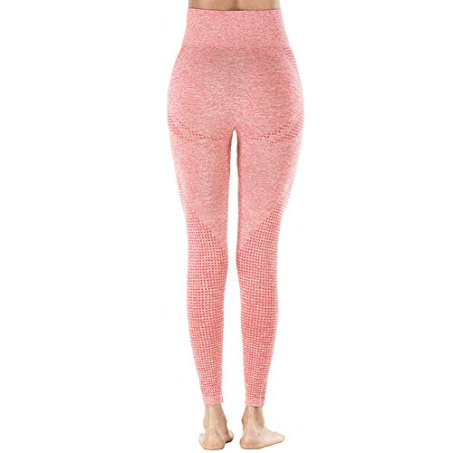 Fxhan High Waist Leggings Yoga Pants Quick Drying Seamless for Sports Fitness