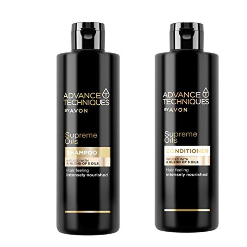 Avon Advance Techniques Supreme Oils Shampoo und Conditioner von Avon