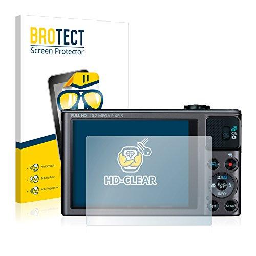 BROTECT Schutzfolie kompatibel mit Canon PowerShot SX620 HS (2 Stück) klare Bildschirmschutz-Folie