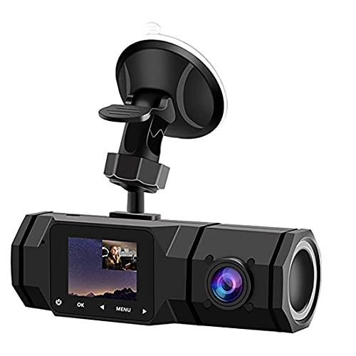 ZALAGA Nueva Grabadora de ConduccióN FHD 1080P, Adecuada para Video en Bucle de AutomóVil/Taxi, con Sensor G y Modo de GrabacióN de...