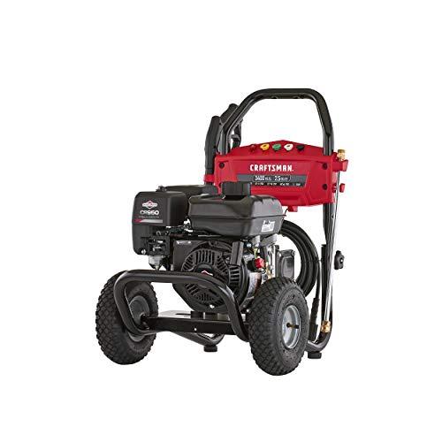 CRAFTSMAN CMXGWAS021024 3400 MAX PSI 2.5 MAX GPM Gas Pressure Washer Powered by Briggs & Stratton 208cc Engine