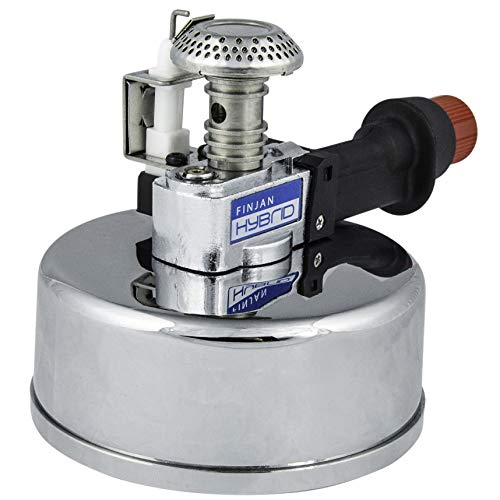 Mini Butane Burner for tabletop Siphons High-intensity Adjustable Gas for Coffee Maker and Fondue