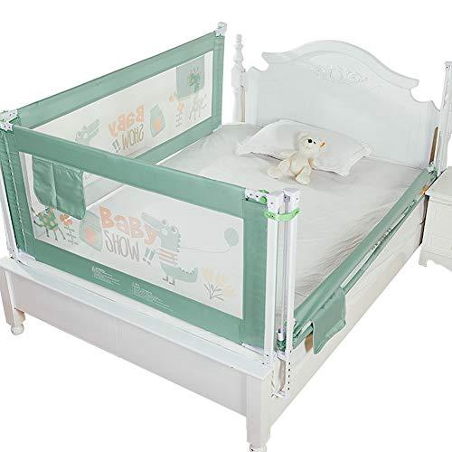 Bettleitplanke vertikal Heben Baby Kind Bett Zaun Anti-Fall-Schallwand am Bett