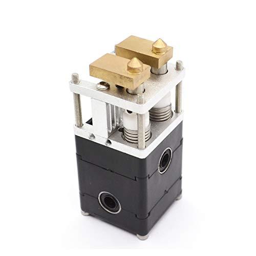 20203D Accessoires d'imprimante 3D Printer Parts UM2 Double tête d'impression Extrudeuse kit Complet avec Accouplement 0.4mm buse for 1,75/3,0mm Filament WScheng (Size : for 1.75mm Filament)