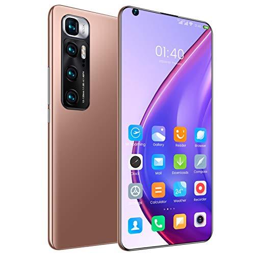 SXXDERTY Telefoni cellulari durevoli 4G, telefoni cellulari sbloccati e Senza SIM, Smartphone Android 10.0 con Display da 7,2 Pollici, Batteria Grande da 6000 mAh, Doppia Fotocamera Doppia SIM