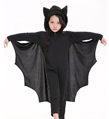 Unisex Bat Kids Animal Fancy Dress Costume Uniforms S