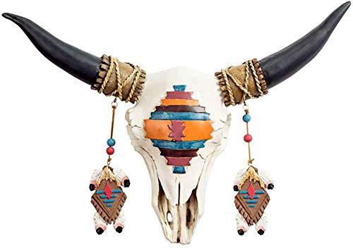 Estatuas Figuritas Decorativas Cabeza De Toro Escultura