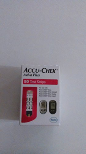 Accu-Chek Aviva Plus Test Strips (Pack of 50)