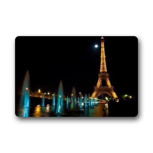Willlly Paillasson Paillasson Personnalisé Paillasson Lavable À La Machine Tour Eiffel Paris Intérieur Décoration Extérieure Tapis 40 Cm L X 60 Cm B Vente Accueil Produit À Usage Quotidien