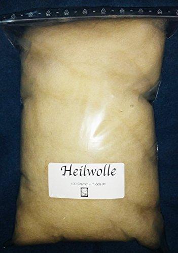 Fettwolle 100gr - Wolle mit viel Lanolin