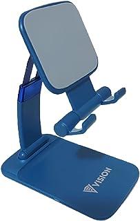 Suporte Base De Mesa Dobrável Celular Tablet iPad Ajustável