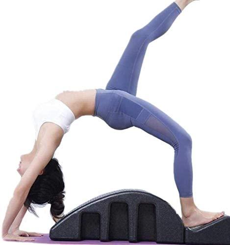YF-SURINA Equipo deportivo Cama de masaje Yoga Columna vertebral Pilates Arc Equilibrado Body Bed, Yoga Pilates Fitness Cama de masaje Alineador espinal Diseño ergonómico para la corrección de la vér