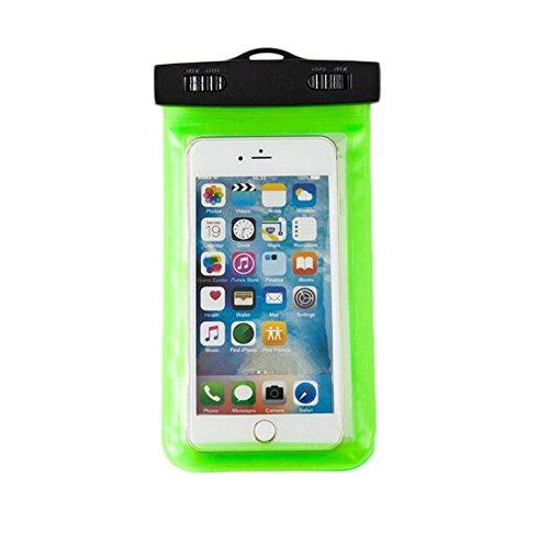 Funda impermeable universal para teléfono móvil, de Aloiness, resistente al agua, flotable, impermeable, para iPhone 7/6S, 7/6S Plus, 38s, SE y otros smartphones