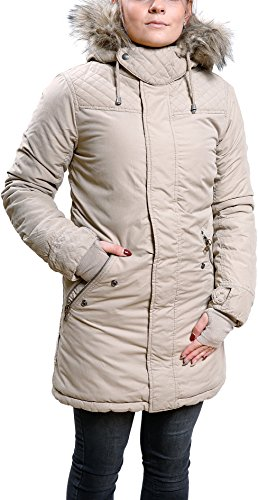 khujo Kourtney Jacket 1206JK173-113 Damenjacke Beige Gr. M