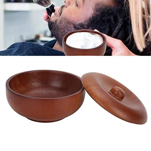 Wood Shaving Soap Bowl, Wooden Shaving Brush Bowl Shaving Soap Bowl Shave Cream Cup Cleaning Mug Mug Shave Soap Cream Mug Professional Shaving Bowl Barber Tool