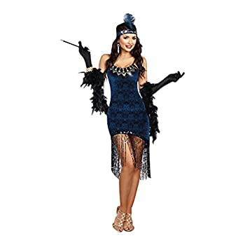 Dreamgirl Women s Downton Doll Blue Large