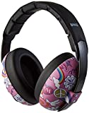 Banz Bubzee Baby Hearing Protection Earmuffs, from 3 Months - 3 Years, Peace.
