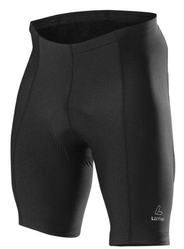 LÖFFLER Basic Pantalon de Cyclisme Homme, Black