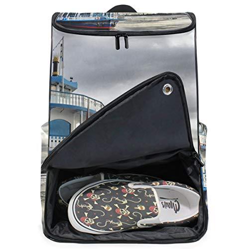 MONTOJ Travel Gear Laptop-Rucksack, Dämpfer in Shore