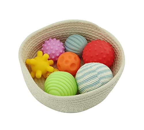 Yx-outdoor Montessori Grip Ball combinación ayudas de enseñanza Preescolar, Ejercicios de percepción táctil para niños pequeños Bola de Masaje Juguetes...