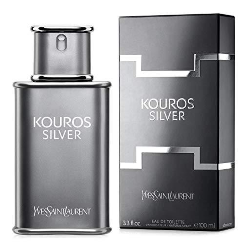 Yves Saint Laurent YSL Kouros Silver Eau de Toilette 100ml