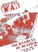CZW- Combat Zone Wrestling- Zandigs Ultraviolent Tournament of Death 2- Double DVD-R Set