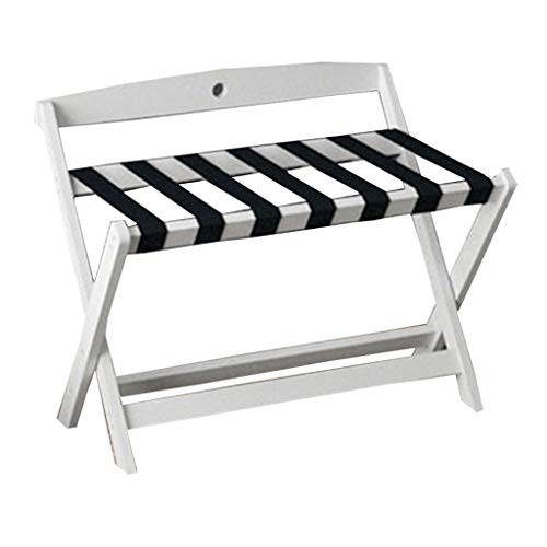 Best Review Of Love-xinglijia Luggage Rack-Solid Wood Luggage Rack Hotel Furniture Hotel Bedroom Folding Rack (Color : D)