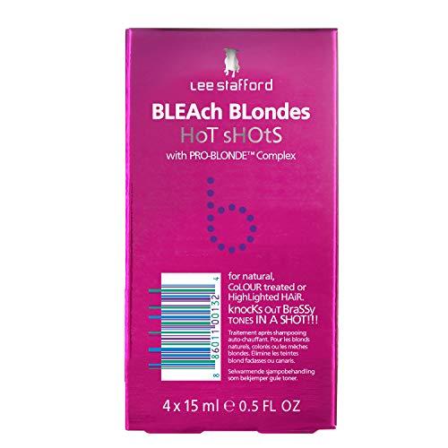 Lee Stafford Bleach Blondes Hot Shots x4