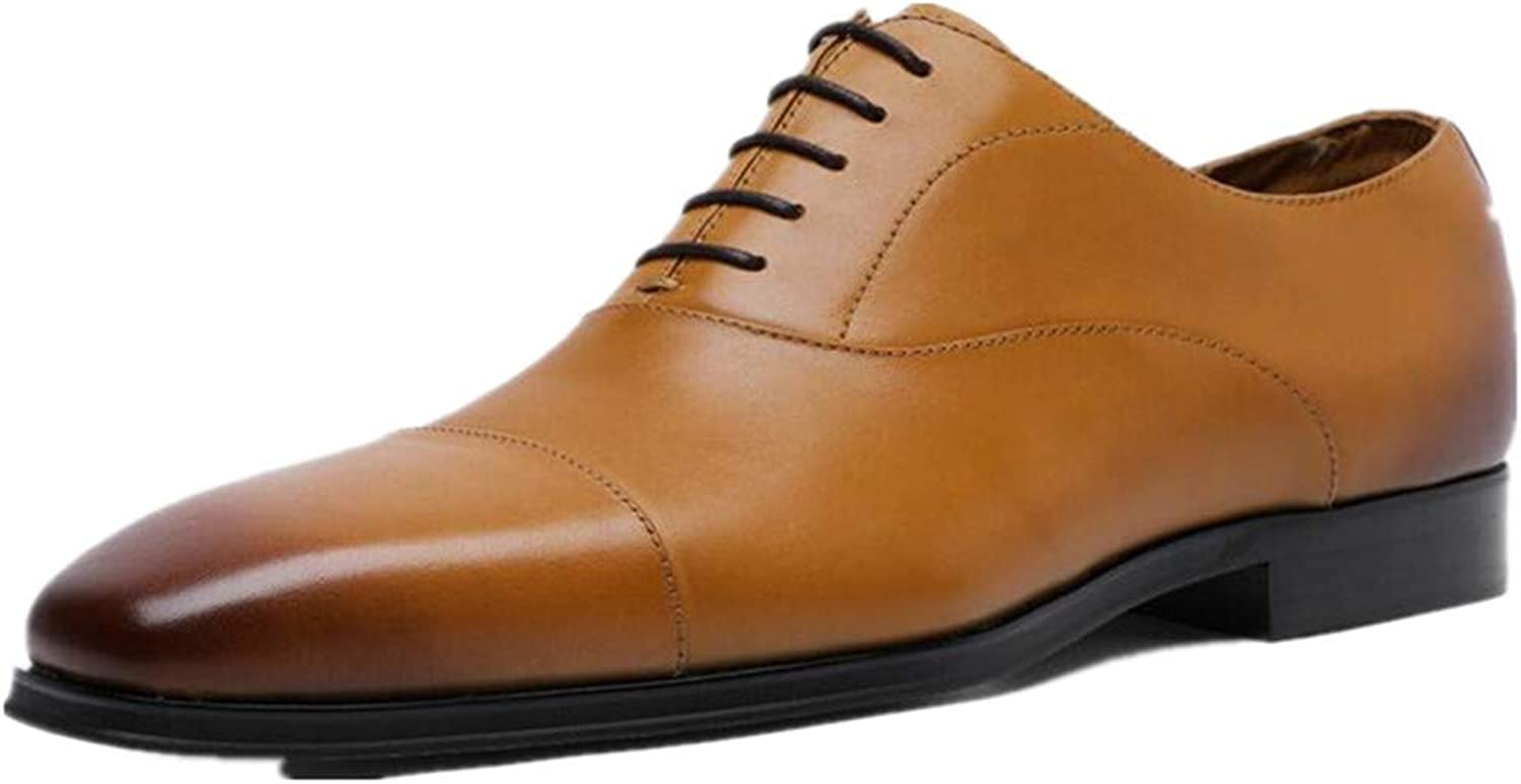 AHUQI Men's Fashion Business Three Joint Large Size Dress shoes