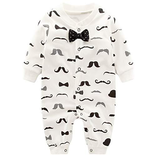 Vine Baby pojkar sovsparkdräkt pyjamas för flickor, en del lång säng säng baby nattkläder, 6–9 månader