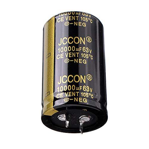 Condensadores Aluminio Radial 10000uF 63V 30x50mm Condensador electrolítico de Alta frecuencia de 105 ° C (5 x)