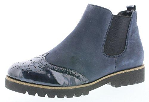 Remonte Damenschuhe D0178 Damen Stiefeletten, Stiefel, Boots blau (Navy/Pazifik / 14), EU 44