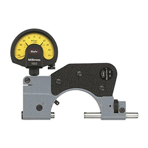 Mahr Feinzeiger Rachenlehre 840 F MaraMeter F 4450004 Messbereich 150-200 mm Wiederholbarkeit 1 µm