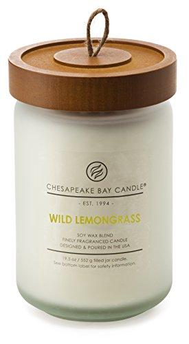 Chesapeake Bay Candle PT16320 Scented Candle, Wild Lemongrass, Large Jar