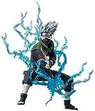 MNZBZ Anime Naruto Ninja Copiador Hatake Kakashi con Lightning Blade PVC Figura de Acción Colección ...