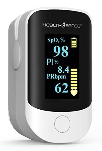 HealthSense Accu-Beat Fingertip Pulse Oximeter