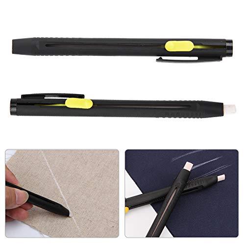 2 lápices de tiza de sastre borrables de aire, rotuladores de tela...