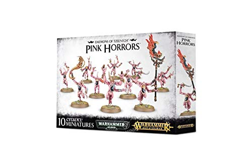 Warhammer 40000 Games Workshop Daemons of Tzeentch Pink Horrors
