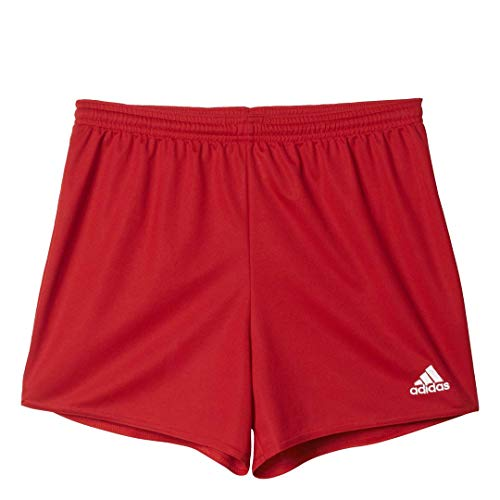 adidas Women's Standard Parma 16 Shorts, Power Red/White, Medium