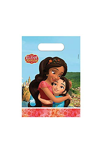 Disney- Elena of Avalor Bolsas de Fiesta, Multicolor (Procos 49760)