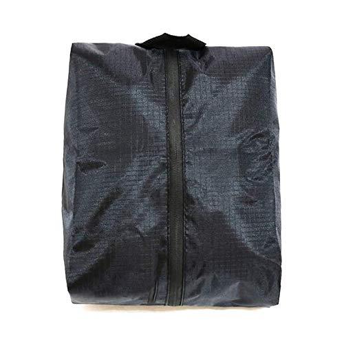POSMA SB020M Golf 39cm X 20.5cm Polyester Shoes Bag Bundle Set with 1pc Golf Wet Brush + 2 Set Score Counter+1pc Spike Wrench+1pc Cinch Sack Carry Bag