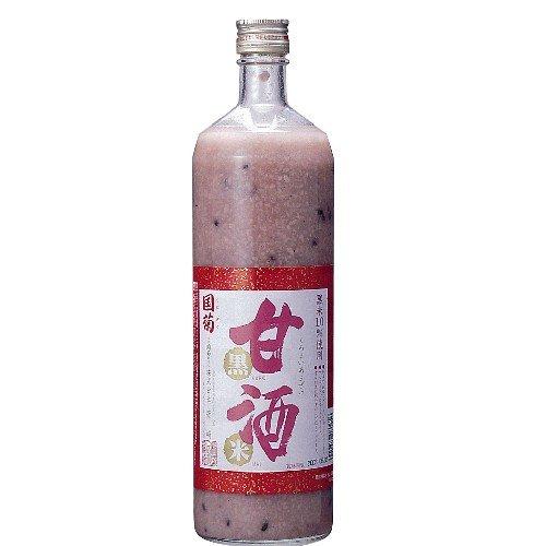 国菊 黒米甘酒 900ml