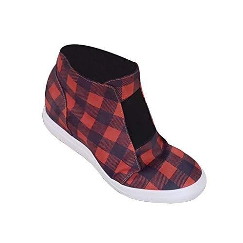 UMore Damen Platform Sneaker Winterstiefel Winterschuhe Warm Gefüttert Schneestiefel Winter Outdoor Boots Winterstiefel Schneestiefel Stiefeletten