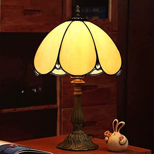 MISLD Lámpara De Mesa Tiffany De 10 Pulgadas, Lámpara De Vidrio De La Lámpara De La Lámpara De La Lámpara De La Lámpara De La Lámpara De La Lámpara De La Lámpara De La Oficina De La Telar