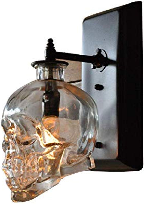 Halloween Alkohol Flasche Wandleuchte, Loft Persnlichkeit Kreative Wasser Bar Bar Wandleuchte Spukhaus Versorgung Dekorative Lichter (Einschlielich Lampen)