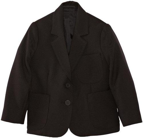 Blue Max Banner Juniors Ziggys Girls Zip Entry Blazer Regular Blazer, Black (Black), 34' Chest